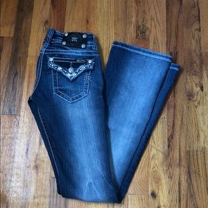 Miss Me Jeans. Worn once (for pictures)